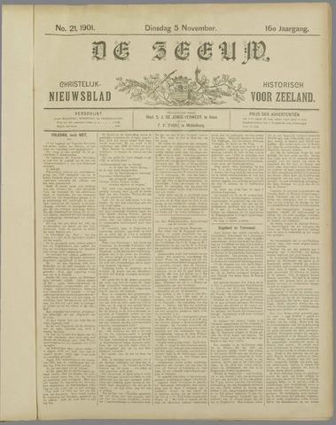 De Zeeuw. Christelijk-historisch nieuwsblad voor Zeeland 1901-11-05