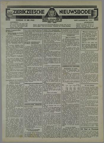 Zierikzeesche Nieuwsbode 1942-05-19
