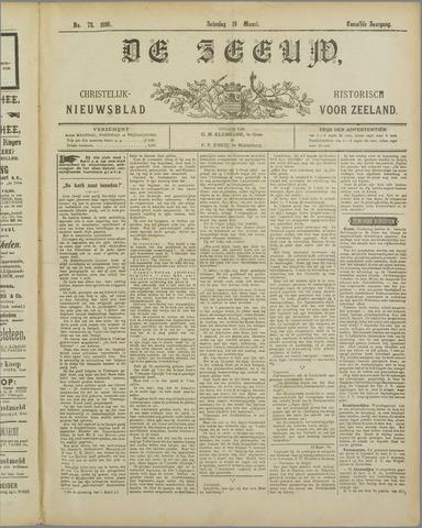 De Zeeuw. Christelijk-historisch nieuwsblad voor Zeeland 1898-03-19