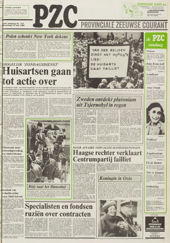 Provinciale Zeeuwse Courant 1986-05-14