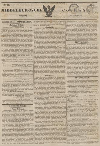 Middelburgsche Courant 1843-02-14