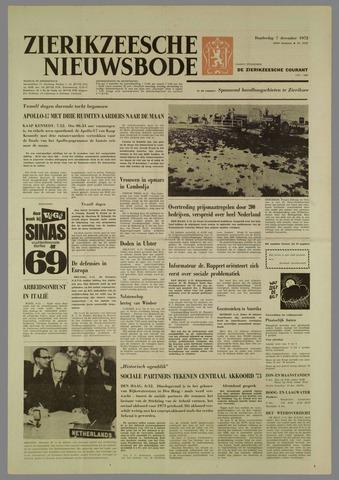 Zierikzeesche Nieuwsbode 1972-12-07