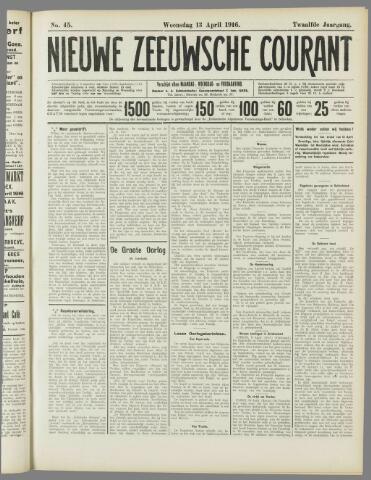Nieuwe Zeeuwsche Courant 1916-04-13