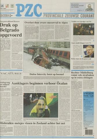 Provinciale Zeeuwse Courant 1999-02-19
