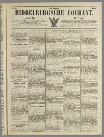 Middelburgsche Courant 1906-04-12