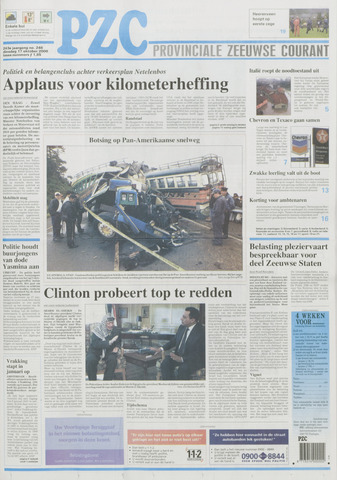 Provinciale Zeeuwse Courant 2000-10-17