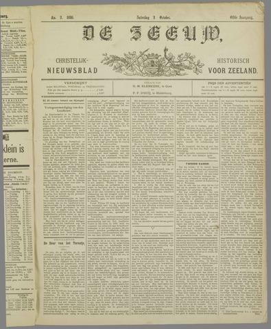 De Zeeuw. Christelijk-historisch nieuwsblad voor Zeeland 1896-10-03