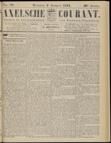 Axelsche Courant 1911