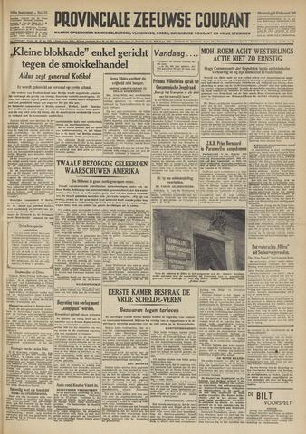Provinciale Zeeuwse Courant 1950-02-06