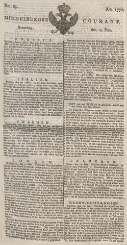 Middelburgsche Courant 1771-05-25