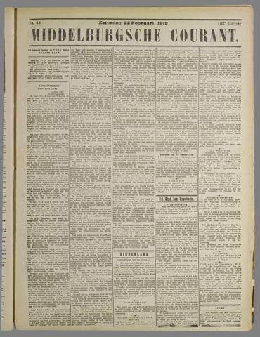 Middelburgsche Courant 1919-02-22