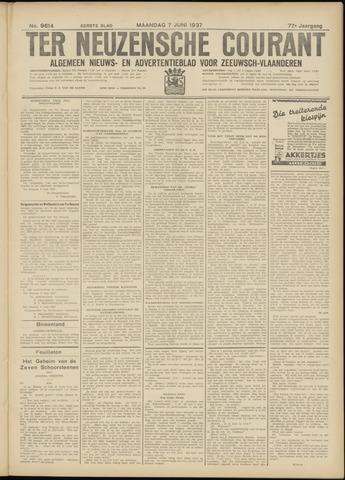 Ter Neuzensche Courant. Algemeen Nieuws- en Advertentieblad voor Zeeuwsch-Vlaanderen / Neuzensche Courant ... (idem) / (Algemeen) nieuws en advertentieblad voor Zeeuwsch-Vlaanderen 1937-06-07