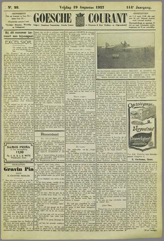 Goessche Courant 1927-08-19