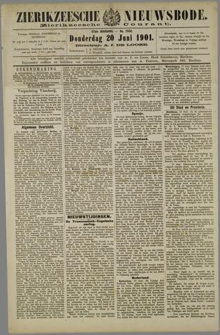 Zierikzeesche Nieuwsbode 1901-06-20