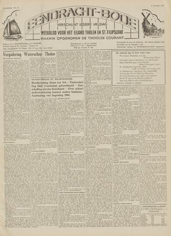 Eendrachtbode (1945-heden)/Mededeelingenblad voor het eiland Tholen (1944/45) 1959-11-06