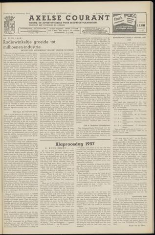 Axelsche Courant 1957-11-06