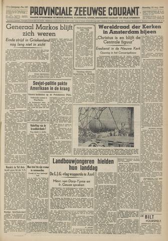 Provinciale Zeeuwse Courant 1948-08-23