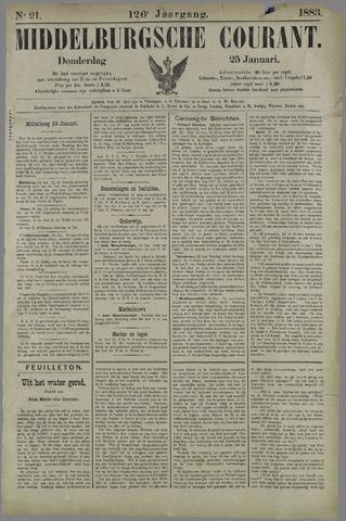 Middelburgsche Courant 1883-01-25