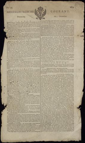Middelburgsche Courant 1814-12-01