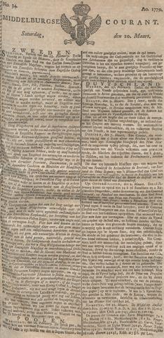 Middelburgsche Courant 1779-03-20