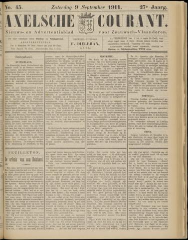 Axelsche Courant 1911-09-09