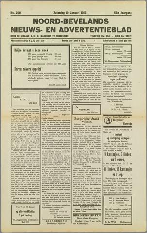 Noord-Bevelands Nieuws- en advertentieblad 1953-01-10