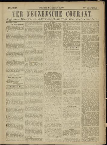 Ter Neuzensche Courant. Algemeen Nieuws- en Advertentieblad voor Zeeuwsch-Vlaanderen / Neuzensche Courant ... (idem) / (Algemeen) nieuws en advertentieblad voor Zeeuwsch-Vlaanderen 1920-01-06