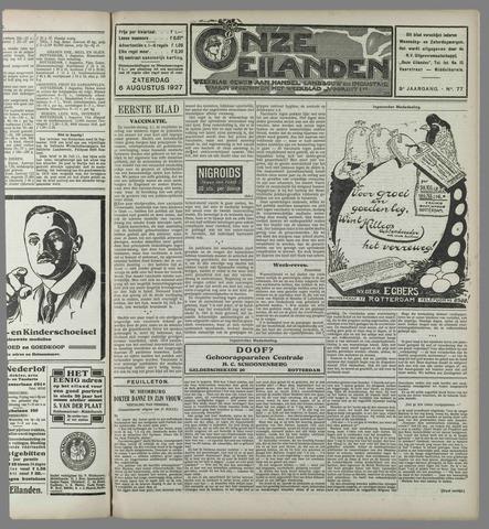 Onze Eilanden 1927-08-06