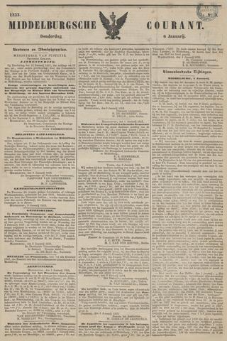 Middelburgsche Courant 1853-01-06