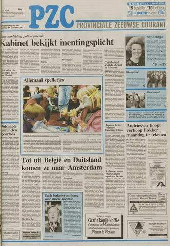 Provinciale Zeeuwse Courant 1992-10-24