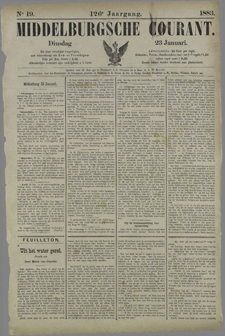 Middelburgsche Courant 1883-01-23