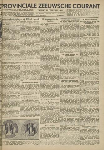 Provinciale Zeeuwse Courant 1944-02-18