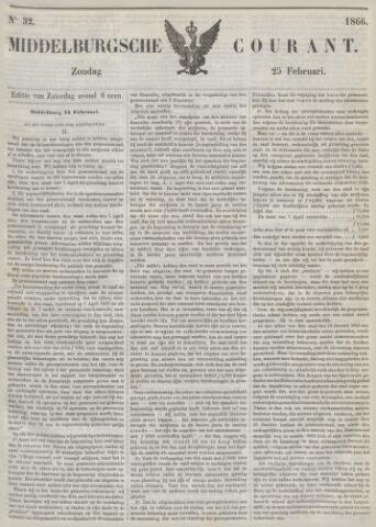 Middelburgsche Courant 1866-02-25