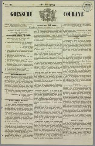 Goessche Courant 1857-03-26