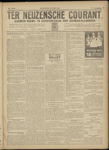 Ter Neuzensche Courant. Algemeen Nieuws- en Advertentieblad voor Zeeuwsch-Vlaanderen / Neuzensche Courant ... (idem) / (Algemeen) nieuws en advertentieblad voor Zeeuwsch-Vlaanderen 1931-06-08