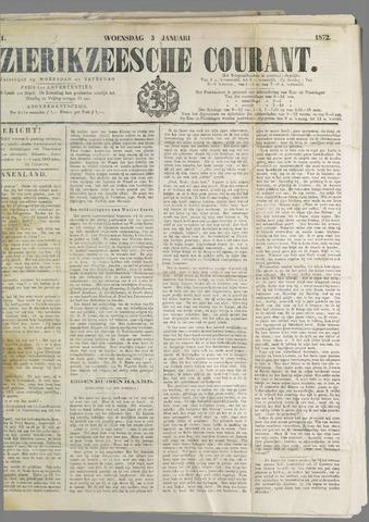 Zierikzeesche Courant 1872