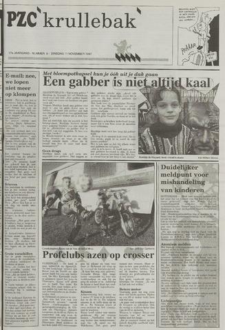 Provinciale Zeeuwse Courant katern Krullenbak (1981-1999) 1997-11-11