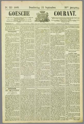 Goessche Courant 1908-09-24