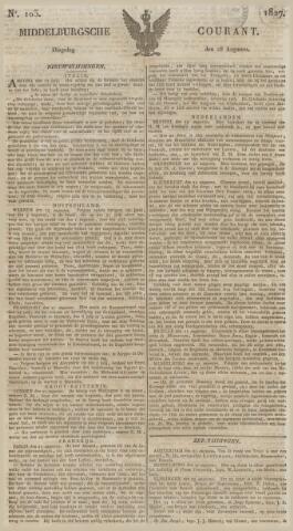 Middelburgsche Courant 1827-08-28