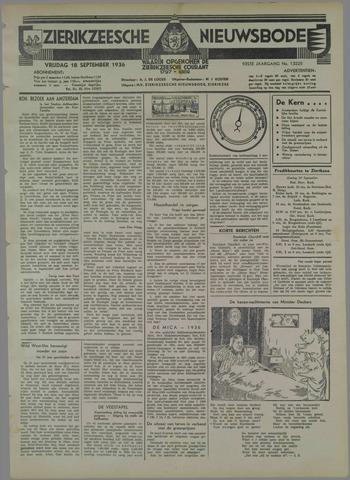 Zierikzeesche Nieuwsbode 1936-09-18