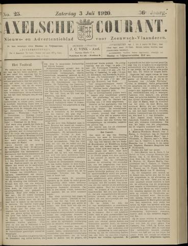 Axelsche Courant 1920-07-03