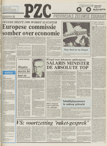 Provinciale Zeeuwse Courant 1980-07-16
