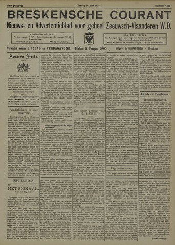 Breskensche Courant 1938-06-14