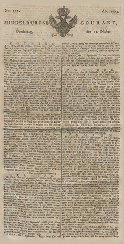 Middelburgsche Courant 1775-10-12