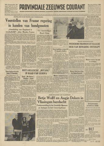 Provinciale Zeeuwse Courant 1954-09-20