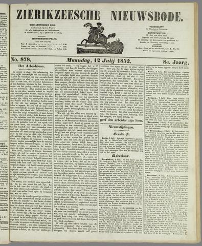Zierikzeesche Nieuwsbode 1852-07-12