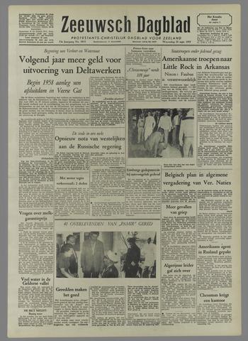 Zeeuwsch Dagblad 1957-09-25