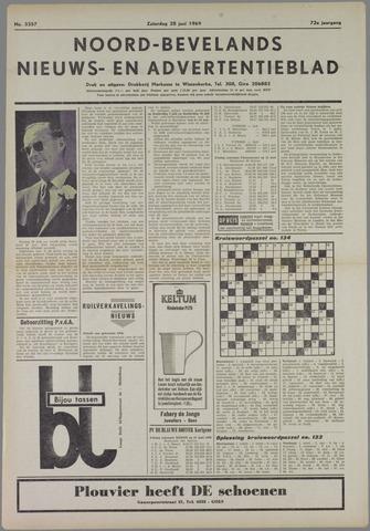Noord-Bevelands Nieuws- en advertentieblad 1969-06-28