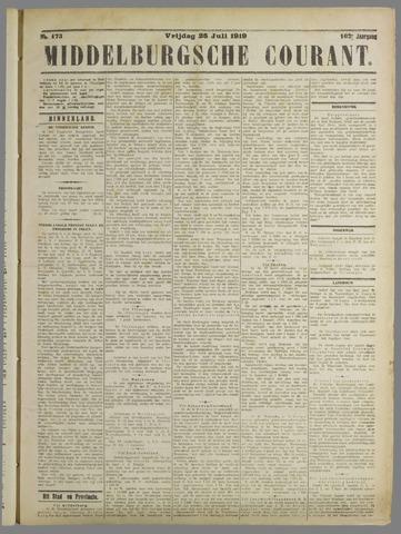 Middelburgsche Courant 1919-07-25