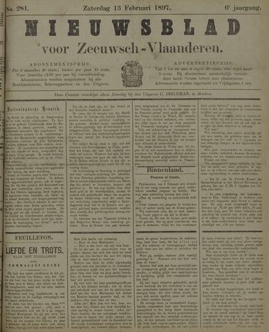 Nieuwsblad voor Zeeuwsch-Vlaanderen 1897-02-13